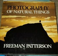 Photography Of Natural Things Freeman Patterson Book Guide Hardcover 1982