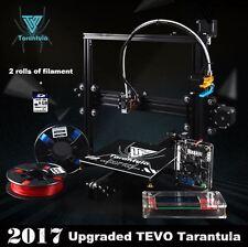 TEVO TARANTULA 3D Printer Prusa i3 + 2 Rolls Filament + 8GB SD Card
