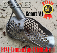 Beach Sand Scoop  SMALL  *SCOUT* V1 Stainless Steel Hunting Detector Tool CooB