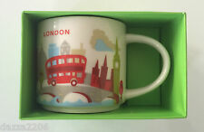 STARBUCKS LONDON UK 2016 YAH YOU ARE HERE MUG 14oz/414ml. BRAND NEW WITH BOX.