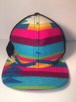 FLIPSIDE HATS Pendleton WOOL Lux BALL Cap AZTEC Navajo Blanket SOUTHWESTERN USA