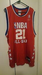 Jersey Kevin Garnett 21 All Star NBA Jersey Pre-owned