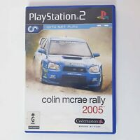Colin Mcrae Rally 2005 - Sony Playstation 2 PS2 + Free Postage + Manual