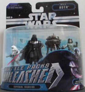 """Star Wars Battle Pack Unleashed Hoth  """" Imperial Invasion """" set Ep# V ESB"""