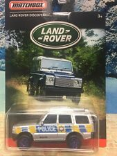 Matchbox 2016 Land Rover Series Land Rover Discovery Police 1/64th diecast