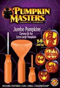 JUMBO PUMPKIN CARVING KIT Masters Extra-Large PM13-261A Tools Halloween NEW