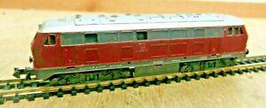 Minitrix 2959 N Diesel Locomotive Br 216 090-1 DB Light And Fahrt Tested