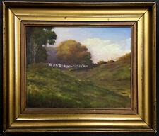 OIL PAINTING Landscape 1912 ~ CALIFORNIA IMPRESSIONIST ~American FRANK SCHAEFER