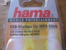 HAMA - USB - STATION für MP3 - STICK in neuwertigem Zustand - noch in OVP