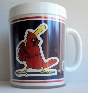 1987 St Louis Cardinals Thermo Mug Cup Glass - FLASH SALE