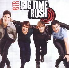 "Big Time Rush ""BTR"" CD GERMAN EDITION bonustracks NUOVO"