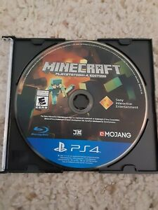 Minecraft (PlayStation 4, 2014) Disc Only
