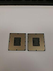 (2) Intel Xeon X5670 SLBV7 2.93GHz 12M LGA1366 Six-Core Processor CPUs