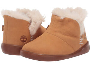 Timberland ~ Tree Sprout Unisex Toddler Size 6 Warm Lined Booties $55 NIB