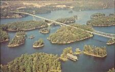 (nft) Postcard: Canadian Span 1000 Islands Internationa