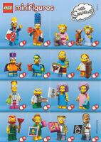 Lego The Simpsons Series 2 Minifigures - Choose a Mini figure 71009 Set Bartman