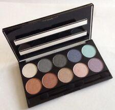 W7 Eyeshadow Palette Brown Bronze Nude Green Gold Platinum White Lilac Blue Pink