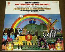 LP Vinyl Record SAINT-SAENS Carnival Of The Animals Louis Fremaux Klavier KS 527