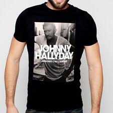 T-Shirt Johnny Hallyday mon pays c'est l'amour