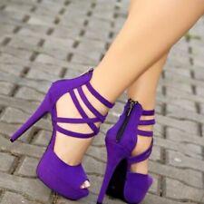 Ankle Strap Gladiator Sexy Women Shoes Sandals Platform Stiletto Shoes EUR 35-47