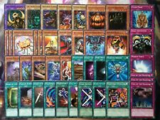 Yugioh Authentic Bonz Zombie Deck Anime 41 Cards Call of the Haunted Pumpking NM