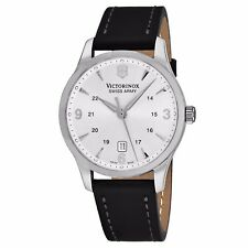 Victorinox Swiss Army Men's Infantry GMT Swiss Quartz Leather Date Watch V249034
