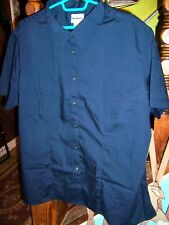 NWOT WEARGUARD Navy Blue s/s b/d Poly/cotton Shirt - SIZE 3XL