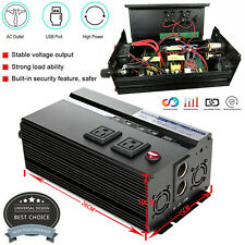 2000W 4000W Peak Invertor 12V DC to 110V AC power Inverter for RV/Truck/Car/Home
