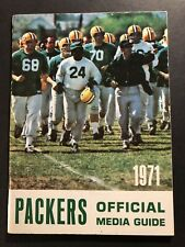 1971 GREEN BAY PACKERS Official Media Guide Press WILLIE WOOD Gale GILLINGHAM