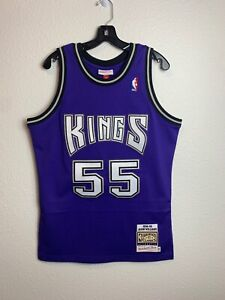 Mens Mitchell & Ness Jason Williams Sacramento Kings Authentic Jersey Purple (M)