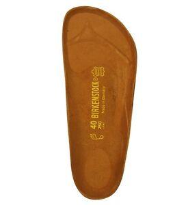 Birkenstock Cork Replacement Foot Bed  Regular Width  1 pair