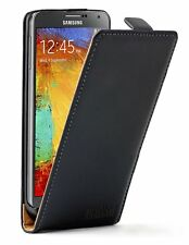 Ultra Slim BLACK Leather case cover for Samsung Galaxy Note 3 III / SM-N9000
