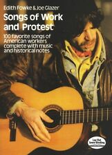 Union Songs Of Work And Protest Play Labor Piano Guitar PVG Music Book