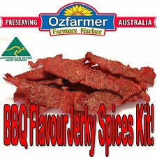 1 x Jerky Spices Kit Home Made Beef Jerky Wedge BBQ Fish & Steak Meat Lovers Kit