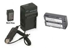 Battery + Charger for Panasonic CGR-D120 CGR-D120A PV-DBP8 PV-DBP8A AG-DVC7