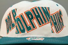 """VINTAGE 1990's """"STARTER"""" MIAMI DOLPHINS AUTHENTIC SNAPBACK CAP NWT"""