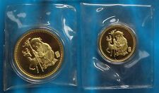 Shanghai Mint:1980 China Brass SHOU XING-God of LONGEVITY set China coin,RARE!