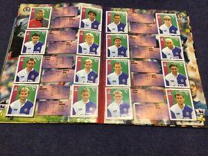 Merlin's Premier League 97 sticker Team Pages Blackburn Rovers