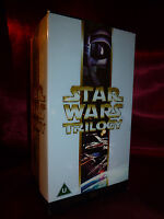 OOP STAR WARS TRILOGY VHS BOX SET 2000 Special Edition THX Hope Empire Jedi