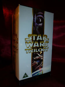 STAR WARS TRILOGY VHS BOX SET 2000 Special Edition THX Hope Empire Jedi OOP