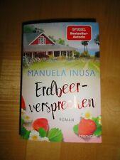 Buch, Roman von Manuela Inusa: Erdbeerversprechen, Liebe, Familie, Unterhaltung