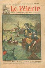 Sauvetage Enfants Floods Inondations Crue du Tarn Moissac Tarn-et-Garonne 1930