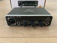Behringer U-PHORIA UMC22 USB Audio Interface Wie Neu OVP