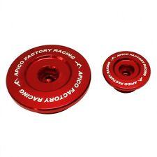 Apico Motor enchufe Set Suzuki Rmz250 04-06 Rojo