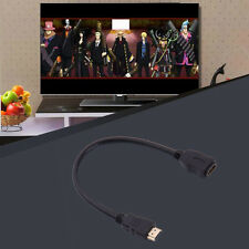 MICRO HDMI TYPE D MALE TO HDMI TYPE A FEMALE CABLE ADAPTER CONVERTER CONNECTOR