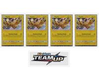 4x Zapdos SM159 Prerelease Promo x4 Playset of 4 Pokemon TCG Team Up Sun & Moon