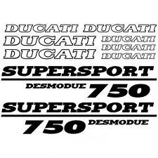 ADHESIVO PEGATINA - AUFKLEBER ADESIVI -  Ducati 750 desmo Réf-MOTO-029