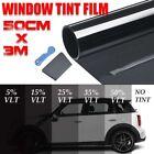 "Uncut Roll Window Tint %5 Super Dark Black Film 20"" Inches x 20'Feet Car Home"