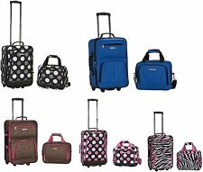 2 Piece Expandable Luggage Set Polyester  19