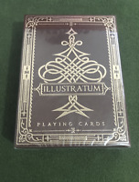 Illustratum playing cards deck brand un-sealed - great deal -free shipping!
